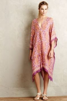 Theodora & Callum Laelia Caftan #anthrofave #anthropologie