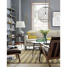 Hoyne Pendant Light | Crate And Barrel. For LampsPendant LightsLiving Room  InspirationLiving Room IdeasSleeper ...