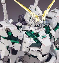 "Custom Build: PG 1/60 RX-0 Unicorn Gundam ""Awakening Ver."" Part 1 of 3 - Gundam Kits Collection News and Reviews"