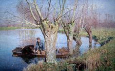 Emile Claus - Bringing in the Nets