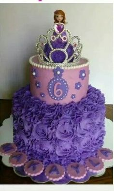 7 Best Cakes--girls character cakes images in 2014 | Baby cakes ...