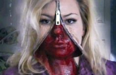 10 Totally F'd Up Halloween Makeup Looks to Terrify Trick-or-Treaters With « Halloween Ideas