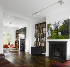 Like the fireplaces and bookshelves