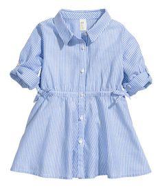 Product Detail | H&M US Cute little girl shirt dress