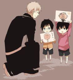 Ao no Exorcist (Blue Exorcist) Image - Zerochan Anime Image Board Ao No Exorcist, Blue Exorcist Anime, Rin Okumura, Otaku, Manhwa, Gekkan Shoujo Nozaki Kun, Fanart, Another Anime, Awesome Anime