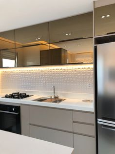 Art Deco Kitchen, Kitchen Pantry Design, Modern Kitchen Cabinets, Modern Kitchen Design, Home Decor Kitchen, Kitchen Furniture, Kitchen Interior, Home Interior Design, Bedroom Bed Design