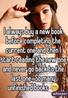31 Confessions Any Book Lover Will Understand. I do this often!