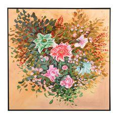 油画 油画布 手绘帆布油画+金箔+现代简约环保外框 多尺寸可选
