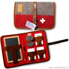 Unique Jass-Etui produced with Swiss Army blankets. Swiss Army, Switzerland, Blankets, Recycling, Games, Toys, Unique, Gift, Clothes
