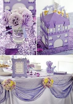 Royal Purple Sofia the First Birthday Party // Hostess with the Mostess®