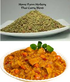 Thai Curry Blend, Salt-Free, Order no..., Food items in Hart County