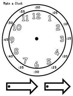Telling time! Make you own Clock!