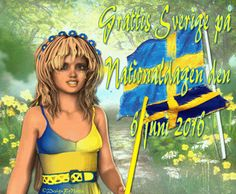 DesignByNettis: Sveriges Nationaldag 6 juni 2016 ♥ Happy Monday and Happy NationalDay To us in Sweden because Today on the #6thofjune is Our National Dag and many people are free from work ♥ https://en.wikipedia.org/wiki/National_Day_of_Sweden  #svenskanationaldagen #holidays2016 #sweden #sverige #swedish #svenskatraditioner #designbynettis #artgif #gifimages2016  http://designbynettis.blogspot.se/2016/06/sveriges-nationaldag-6-juni-2016.html