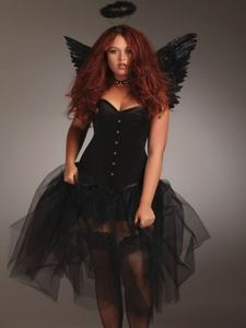 Plus size Dark Angle Set costumes