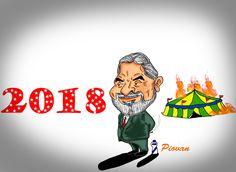"""""""Se for necessário, serei candidato em 2018"""", diz Lula  O ex-presidente Luiz Inácio Lula da Silva (PT) afirmou na manhã desta sexta-feira (28) que, se for preciso, poderá disputar a Presidência da República em 2018. Esta é a primeira vez que ele falou publicamente sobre a possibilidade de se candidatar.  """"Não posso dizer que sou, nem que não sou [candidato]. Sinceramente, espero que tenha outras pessoas para serem candidatas. Agora, uma coisa pode ficar certa. Se a oposição pensa que vai…"""
