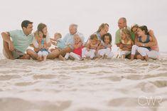 best beach family photos - Google Search