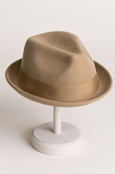 Good Boy Wool Felt Fedora Hat 982ff58ef950