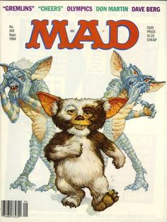 MAD magazine I have original oil paintings available on my ebay! check them out! treat yourself for the holidays! happy bidding!  http://www.ebay.com/itm/301050066155 thank you Richard Williams