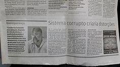 Pena de morte no Brasil jamais reduziria o crime e jamais puniria ricos. Leia minha entrevista ao jornal A Tribuna.