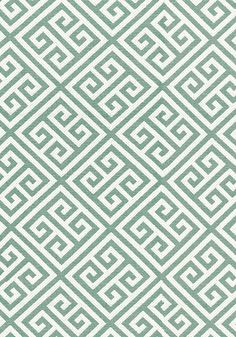 Mykonos Key #fabric in #aqua from the Woven Resource 6 collection. #Thibaut