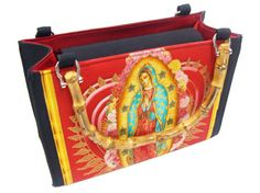 Lady Guadalupe Virgin Mary Box size US handmade by HandmadeFashion, $44.95