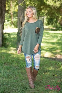You'll be dreaming of this gorgeous blouse all season long - make sure and grab it now, because it is so cozy!