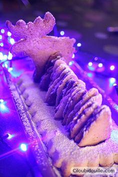christmas cake - Bûche de Noël - easy to make with kids - facile à faire avec les enfants.