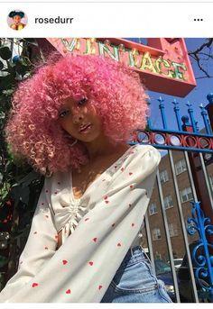 Natural Afro Hair Ca - January 01 2019 at - Couleur Cheveux 02 Dyed Curly Hair, Dyed Natural Hair, Colored Curly Hair, Dye My Hair, Curly Girl, Curly Hair Styles, Natural Hair Styles, Colored Natural Hair, Pelo Guay