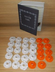 Sewing machine pattern 29 cam library vinyl book case Kenmore vintage, NICE! #Kenmore