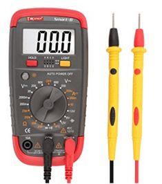DMiotech Digital Multimeter Battery Tester Battery Load Test Resistance Continuity Diode AC / DC