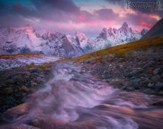 Photograph A River Runs Through It - Tombstone Valley, Yukon by Kevin McNeal on 500px