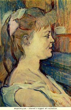 Henri de Toulouse-Lautrec. Femme de Maison. Olga's Gallery.