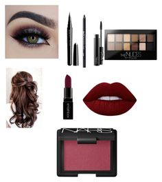 """""""Untitled #29"""" by jaqueline-martinez-1 on Polyvore featuring beauty, MAC Cosmetics, Urban Decay, Maybelline, Marc Jacobs, Lime Crime, Smashbox and NARS Cosmetics"""