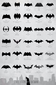 I dig 'em all so much! #Batman