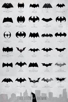 I dig 'em all so much! #Batman