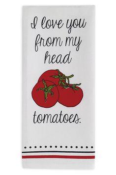 Tomatoes Dishtowel