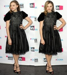 Chloe Moretz at the 17th Annual Critic's Choice Movie Awards in Los Angeles on January 12, 2012