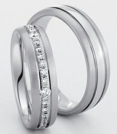 wedding ringWedding Ring is a ring as a symbol used in the wedding celebration. Matching Wedding Rings, White Gold Wedding Rings, Platinum Wedding Rings, Wedding Bands, Couples Ring Tattoos, Couple Ring Design, Couple Rings, Bridal Jewelry Sets, Love Ring