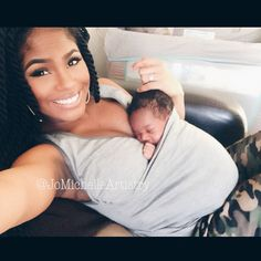 """""""""""Awee Nala LOVES being in her #lalabubaby #sootheshirt by @lalabubaby Check out my next post for how this shirt with a built in pouch makes #babywearing…"""""""