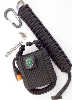 A badass survival belt, this accessory hides over two dozen tools inside a discreet full-length compartment along the waist band.