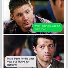 Sometimes i'm Dean .. and somezimes i'm Cas