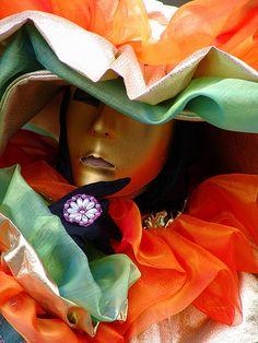 Carnevale a Venezia. Carnival to Venice, Carnaval de Venise, via Flickr.