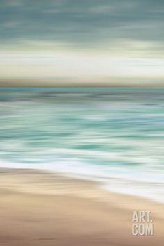Ocean Calm II Art Print by Tandi Venter at Art.co.uk