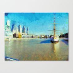 Bella Giornatta Canvas Print by Diretório Do Design - $85.00