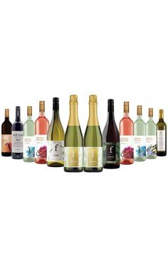 James Estate Red, White & Sparkling Mixed - 12 Bottles Wines, Red And White, Bottles, Sparkle