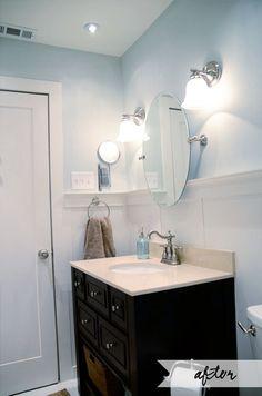 Love this bathroom remodel