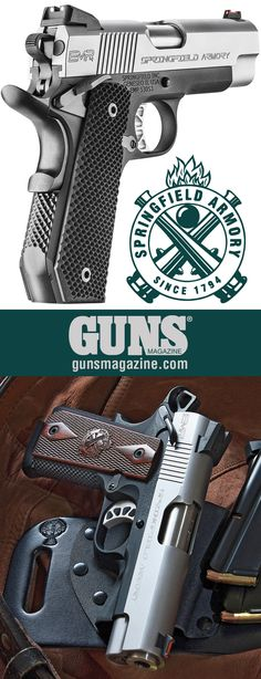 A Less-Filling Handful   Springfield's EMP4 Solves The 9mm/1911 Conundrum   By Jeff John   The Springfield Armory EMP4 9mm is a mid-size belt pistol offering 10+1 capacity and reduced grip size in a 1911.   © GUNS Magazine 2017