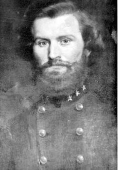 Colonel Randal William McGavock of the Tennessee Infantry. Killed at the battle of Raymond, Mississippi. Confederate States Of America, America Civil War, Confederate Leaders, Confederate Monuments, Southern Heritage, Civil War Photos, People Of Interest, Military Photos, Fotografia