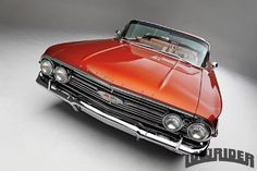 1960 Chevrolet Impala Convertible Front View 1960 Chevy Impala, Chevrolet Impala, Rear Speakers, Custom Tanks, Crate Engines, Sports Sedan, Bel Air, Corvette, Luxury Cars