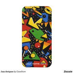 Jazz designer iPhone 5/5S cases